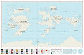 Detailed World Map Detailed Map Of The