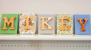 Letters For Baby Nursery Bedroom Cute Baby Room Name Letters Ideas As Bedroom Decorations