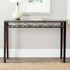 Black Console Table With Drawers Safavieh Black Entryway Tables Entryway Furniture The Home