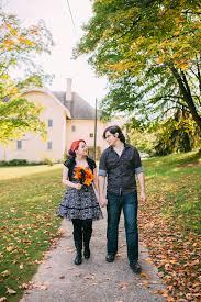 jess matt halloween elopement traverse city state hospital