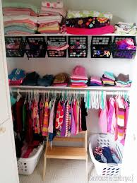 Wardrobe Organization Kids And Nursery Closet Organization Ideas
