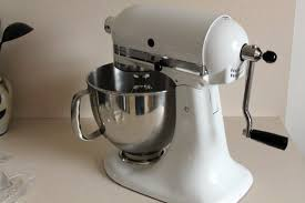 Grid Switches For Kitchen Appliances - hand crank conversion kitchen aid mixer off grid food processors