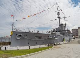 take a tour of the 114 year old japanese battleship mikasa