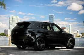 land rover evoque black wallpaper customized range rover sport exclusive motoring miami fl