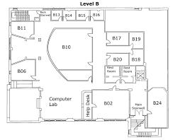Lab Floor Plan Library Floor Plans