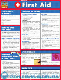 quick study guides of references and first aid quickcards many authors 2003 pdf