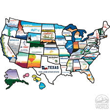 Ez Pass States Map States Sticker Travel Accessories Rv And Camping