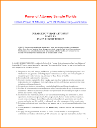 Revocation Of Power Of Attorney Sample by 8 Power Of Attorney Florida Form Action Plan Template