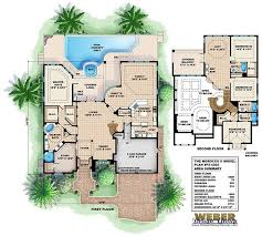 Mediterranean Floor Plan 50 Best Olde Florida Style Home Plans Images On Pinterest