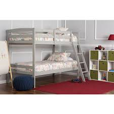 Amazoncom Dream On Me Taylor Twin Over Bunk Bed Gray Baby - Dreams bunk beds