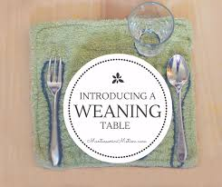 Montessori Weaning Table One Stop Guide To Introducing A Weaning Table U2014 Montessori In Motion