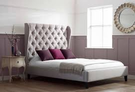 Upholstered Headboard King To Make Wingback Headboard Laluz Nyc Home Design