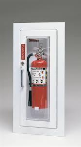 semi recessed fire extinguisher cabinet triangle fire inc fire extinguisher cabinets larsen s c2409 5r