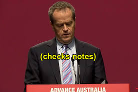 Meme Notes - this popular bill shorten meme just happened again irl