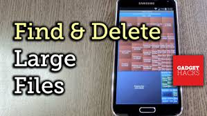 large android phones easily find delete large files on android how to