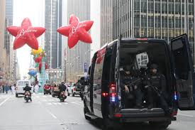 nypd to deploy 3 000 cops to guard thanksgiving day parade