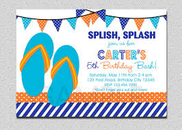 14th birthday party invitations pool party invitations templates ideas invitations ideas