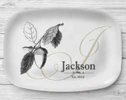 personalized serving platters personalized melamine bar platter personalized serving