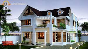Modern Floor Plans For New Homes by Homes Designs Contemporary House Designs Sq Feet 4 Bedroom Villa