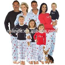 matching family pajamas sets 100 cotton flannel winter snowman