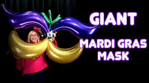 large mardi gras mask mardi gras mask step by step tutorial