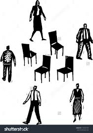 Office Chair Clipart Game Clipart Musical Chair Pencil And In Color Game Clipart