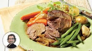 cuisiner du paleron de boeuf mijoté de paleron de porc à l ancienne de christian bégin