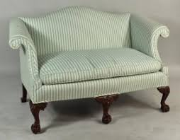 Vintage Settees For Sale Vintage Chippendale Camelback Sofa Love Seat Settee Great Ball