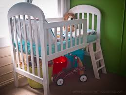 When To Turn Crib Into Toddler Bed Transform Your Crib Into A Loft Toddler Bed Simple Budget Diy