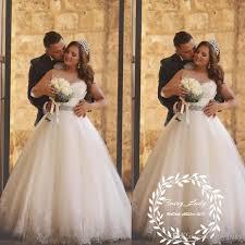 wedding dresses for plus size women discount cheap 2018 beading waist wedding dresses plus size