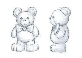 teddy bear concept art sketch by wlodarczykmaciej on deviantart
