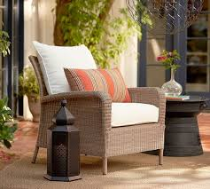 Patio Furniture Slip Covers by Georgia Outdoor Furniture Cushion Slipcovers Pottery Barn