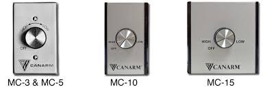 Ceiling Fan Controller by Canarm Mc Industrial Ceiling Fan Speed Controls