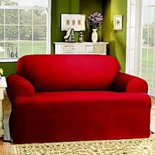 T Cushion Sofa Slipcover by Sure Fit Cotton Duck Sofa Slipcover Cushion Pieces