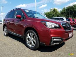 subaru forester 2018 colors 2018 venetian red pearl subaru forester 2 5i touring 122312574