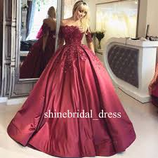 burgundy quince dresses burgundy quinceanera dress lace sleeve satin prom wedding