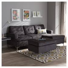 Loveseat With Ottoman Riley Modern And Contemporary Fabric Upholstered 3 Piece