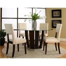 Dining Room Furniture Brands Abigail Round Dining Room Table Contemporary Furniture Brands