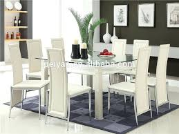 glass dining room table set glass dining table for 6 laurenancona me