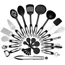 Kitchen Utensils And Tools by Amazon Com 26 Piece Kitchen Utensils Set U0026 Cooking Tools