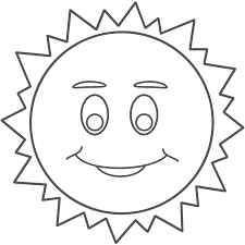smiley face coloring page learn colors for children with smiley