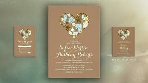 cheap wedding invitations online gold heart wedding invitations and gold heart wedding