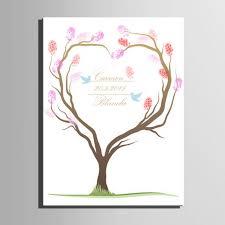unique wedding gift fingerprint signature wedding tree painting unique wedding gift
