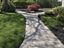 hillcrest landscape design and masonry drive walkways