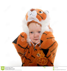 baby boy in tiger costume stock image image of adorable 35541785
