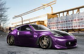 nissan purple purple 370z stancenation form u003e function