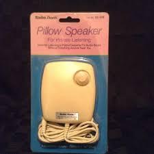 vintage radio shack pillow speaker 33 208 listen enjoy
