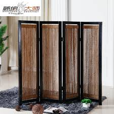 decorating ideas stylish wooden room divider as living room