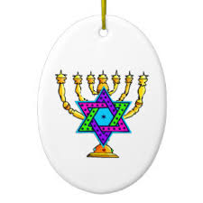 chanukah menorah ornaments keepsake ornaments zazzle