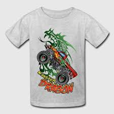 dragon monster truck shirt spreadshirt